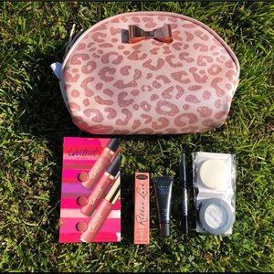 Animal Print Makeup Bag & Deluxe Samples